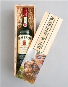 gifts: Personalised Photo Jameson Crate!