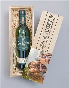 gifts: Personalised Photo Glenfiddich Crate!
