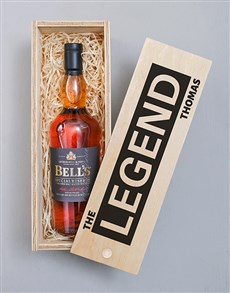 gifts: Personalised Legend Bells Crate!