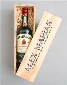 gifts: Personalised Traditional Jameson Crate!