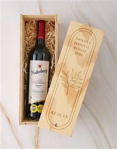 gifts: Personalised Nederburg Riesling Crate!
