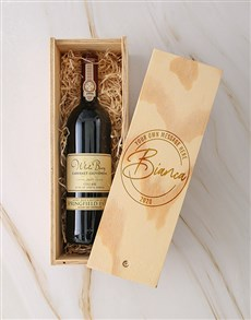 gifts: Personalised Stamp Springfield Sauv Blanc Crate!