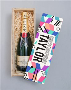 gifts: Personalised Happy Birthday Pongracz Crate!