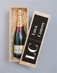 gifts: Personalised Bold Initials Pongracz Crate!