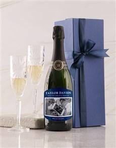 gifts: Personalised Navy Label Backsberg Wine!
