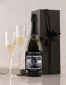 gifts: Personalised Black Label Backsberg Wine!