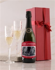 gifts: Personalised Red Label Backsberg Wine!