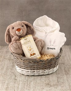 gifts: Personalised Bunny Baby Gown!