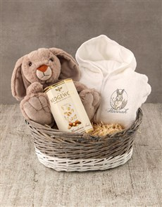 gifts: Personalised Cuddly Bunny Baby Gown!