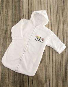 gifts: Personalised Farm Animals Baby Sleeping Hamper!