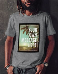 gifts: Personalised Island View T Shirt!