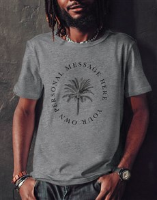 gifts: Personalised Palm Tree T Shirt!