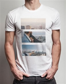 gifts: Personalised Triptych Photo T Shirt!