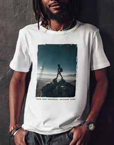 gifts: Personalised Worn Photo T Shirt!