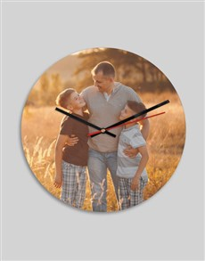 gifts: Personalised Picture Perfect Clock!