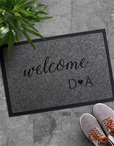 gifts: Personalised Welcome Initials Doormat!