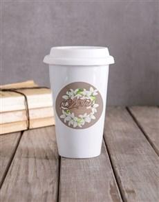 gifts: Personalised Mother Travel Mug!