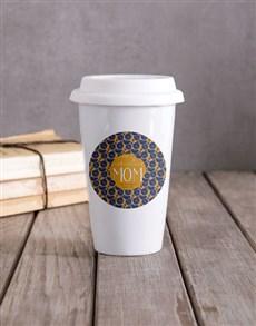 gifts: Personalised Marvellous Mom Travel Mug!