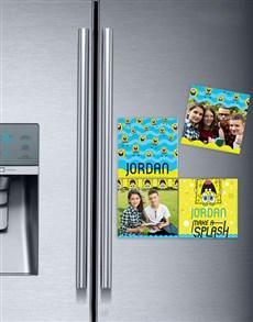 gifts: Personalised Splash SpongeBob Fridge Magnets!