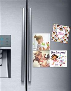 gifts: Personalised Dora Explore Fridge Magnets!