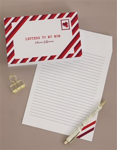 gifts: Personalised Letters To Mom Notebook!