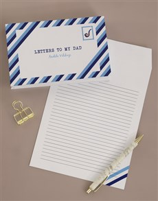 gifts: Personalised Letters To Dad Notebook!