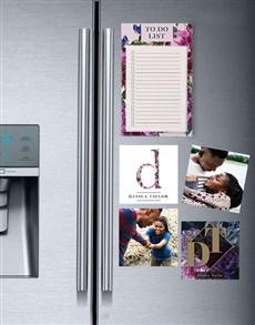 gifts: Elegant Fridge Magnet Set!