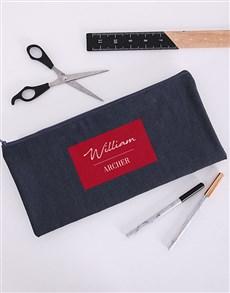 gifts: Personalised Tasteful Pencil Bag!
