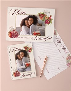 gifts: Personalised Smart And Beautiful Note Set!