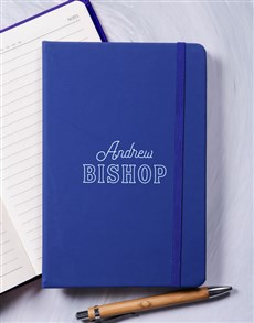 gifts: Personalised Modern Name Hardcover Journal!