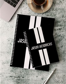 gifts: Personalised On The Road Notebook!