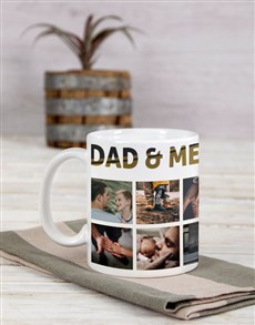 gifts: Personalised Dad and Me Mug !