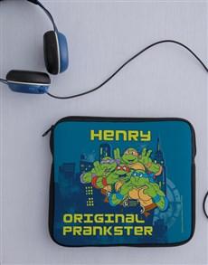 gifts: Personalised Ninja Turtles Kids Tablet Cover!