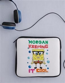 gifts: Personalised SpongeBob Kids Tablet Cover!