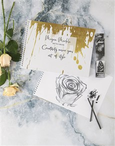 gifts: Personalised Creativity Style Sketch Book !