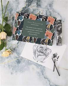 gifts: Personalised Special Kind Of Artist Sketch Book!