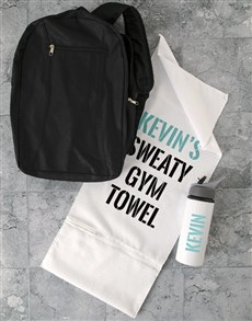gifts: Personalised Intense Work Out Gym Towel Set!