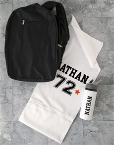 gifts: Personalised Team Player Gym Towel Set!