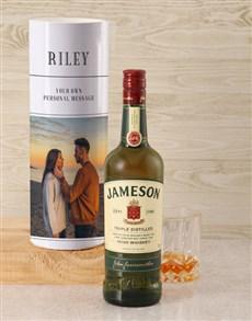 gifts: Personalised Jameson Whiskey Photo Tube!