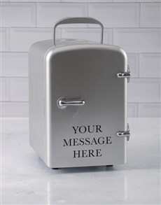 gifts: Personalised Silver Message Desk Fridge!