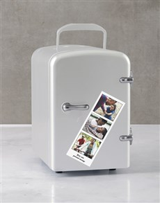 gifts: Personalised Photo Booth White Desk Fridge!