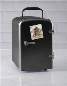 gifts: Personalised Polaroid Black Desk Fridge!