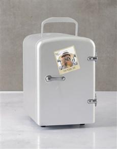 gifts: Personalised Polaroid White Desk Fridge!