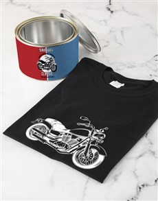 gifts: Personalised Classic Birthday T shirt Tin!