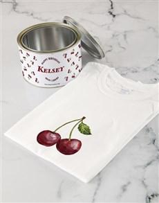 gifts: Personalised Mon Cheri Birthday T Shirt Tin!