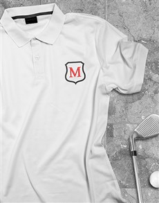 gifts: Personalised Black Embroidered White Shirt!