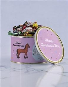 gifts: Personalised Unicorn Secretary Tin!