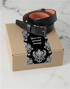 gifts: Personalised Shining Charms Belt Box!