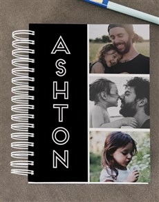 gifts: Personalised Photo Diary Set!