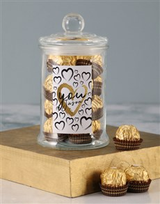 gifts: Personalised You Ferrero Candy Jar!